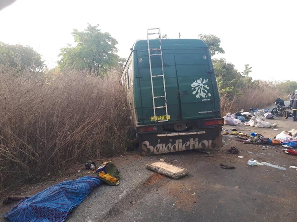 Banfora: 9 personnes tués dans un accident de la circulation