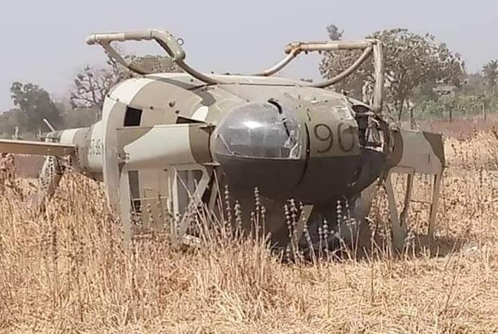 Burkina : crash d'un hélicoptère militaire, pas de victimes