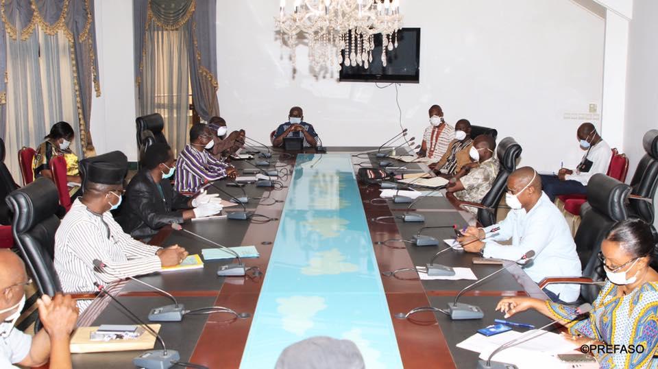 Burkina/Coronavirus:  la présidence du Faso opte pour le télétravail et le principe de la rotation.