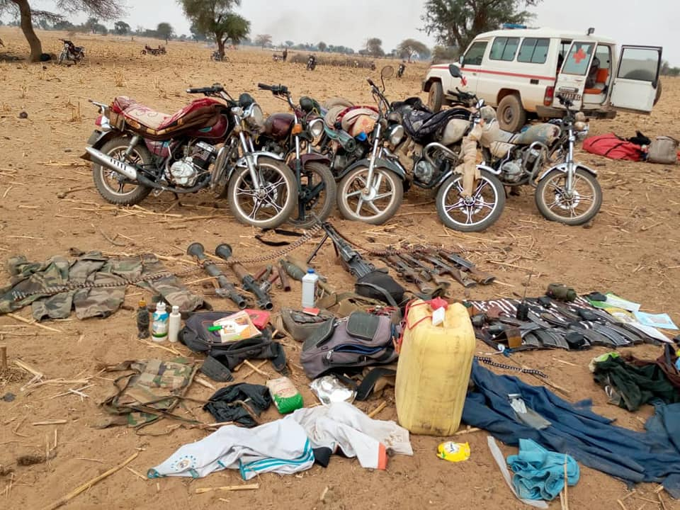 Sécurité: 70 terroristes mis hors d'état de nuire par les FDS