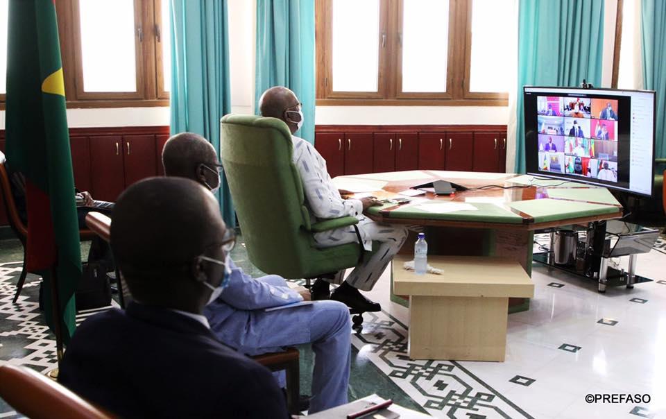 Covid-19 :les chefs d'État et de gouvernement de l'UEMOA en quête de solutions communes