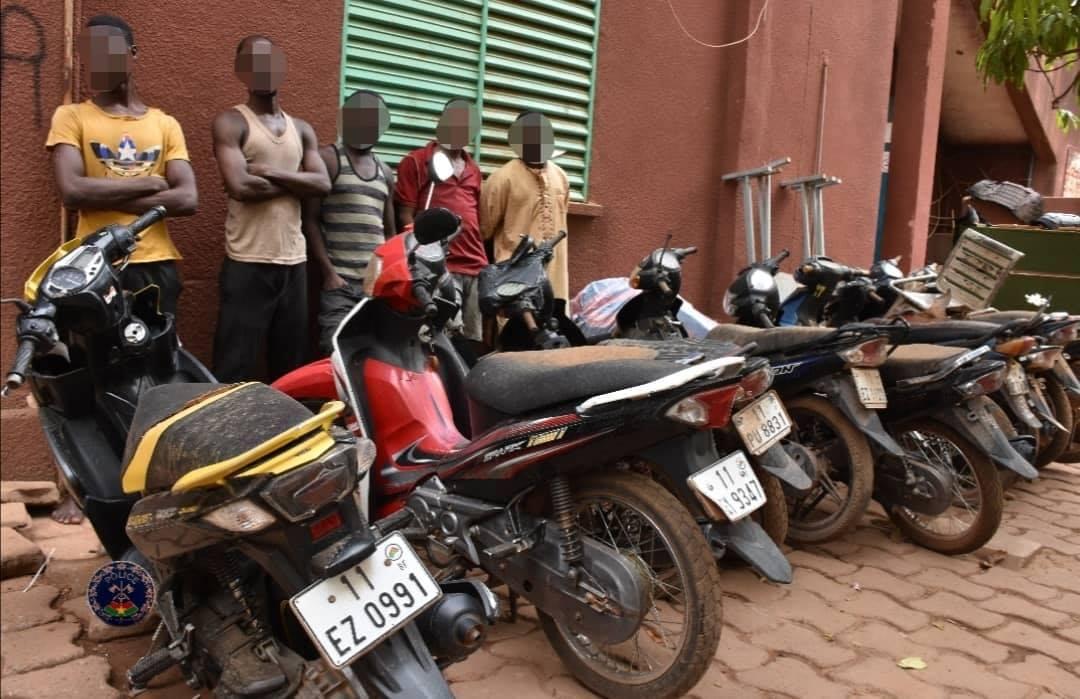 Ouagadougou-insécurité: fin de cavale pour deux réseaux de délinquants