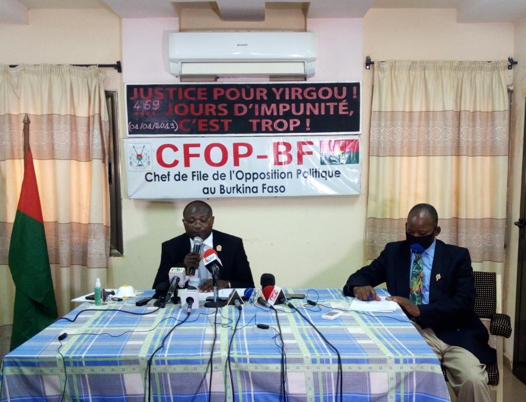 Politique: Eddie Komboigo devient le nouveau chef de file de l'opposition au Burkina