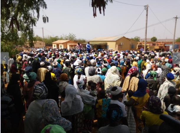 Distribution des vivres : Des déplacés internes de Kaya en colère contre l'Action sociale