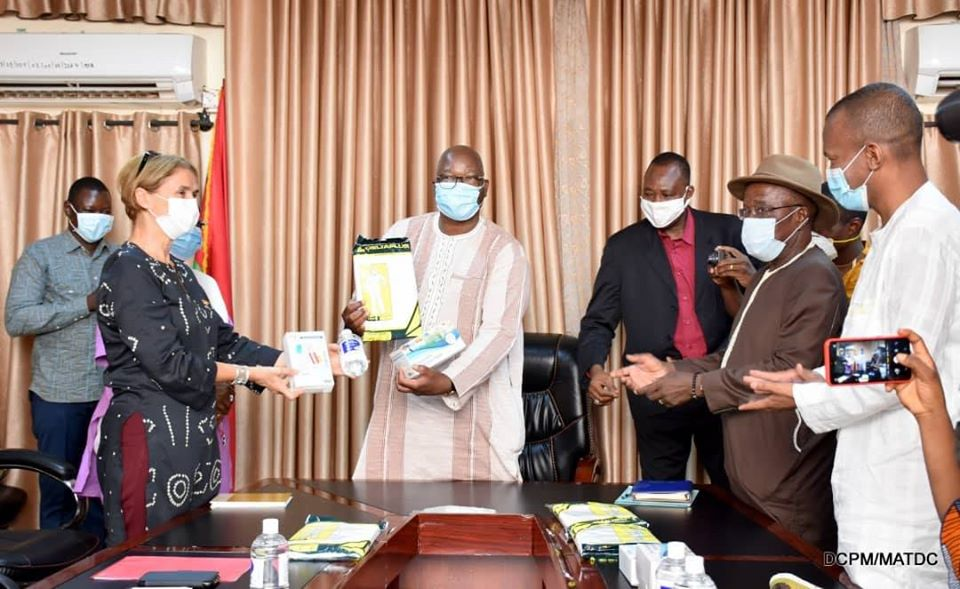 Burkina/Coronavirus : 52 665 000 F CFA de matériel pour prévention dans les collectivités territoriales.