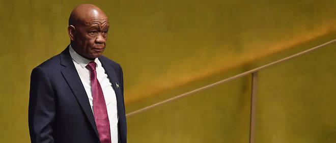 Lesotho : Le Premier ministre Thomas Thabane démissionne