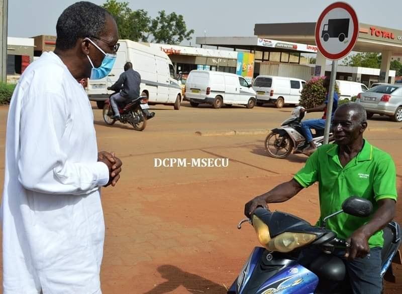 Burkina/Coronavirus : la police lance l'opération de contrôle