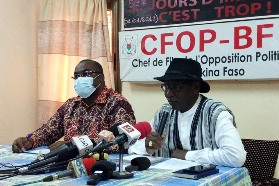 Politique: Enolement frauduleux à Ziniaré, l'opposition condamne