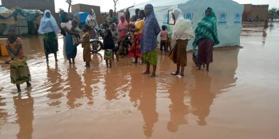 Kongoussi :17 déplacés internes blessés au passage d'une tornade