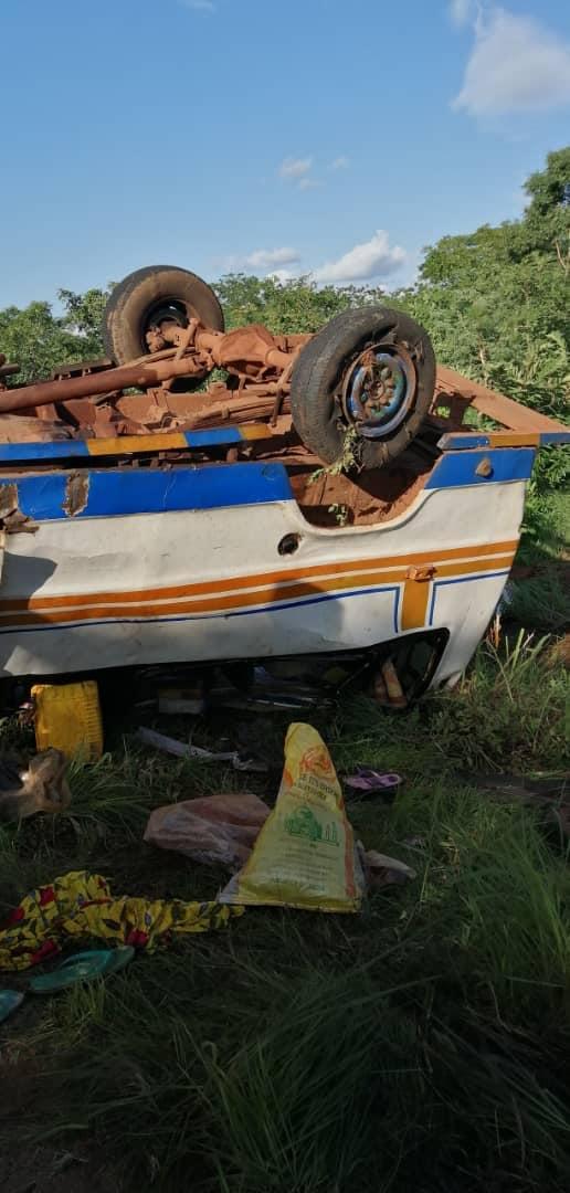 Bobo Dioulasso: un accident fait 18 blessés
