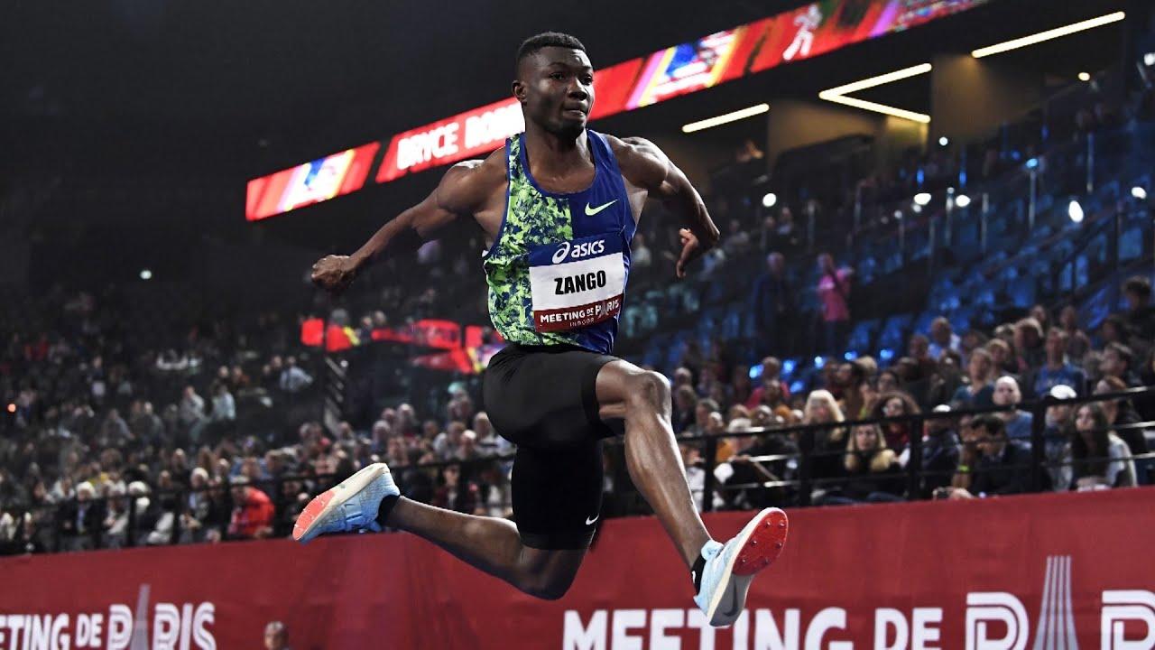 Sport: un nouveau record pour Fabrice Hugues ZANGO