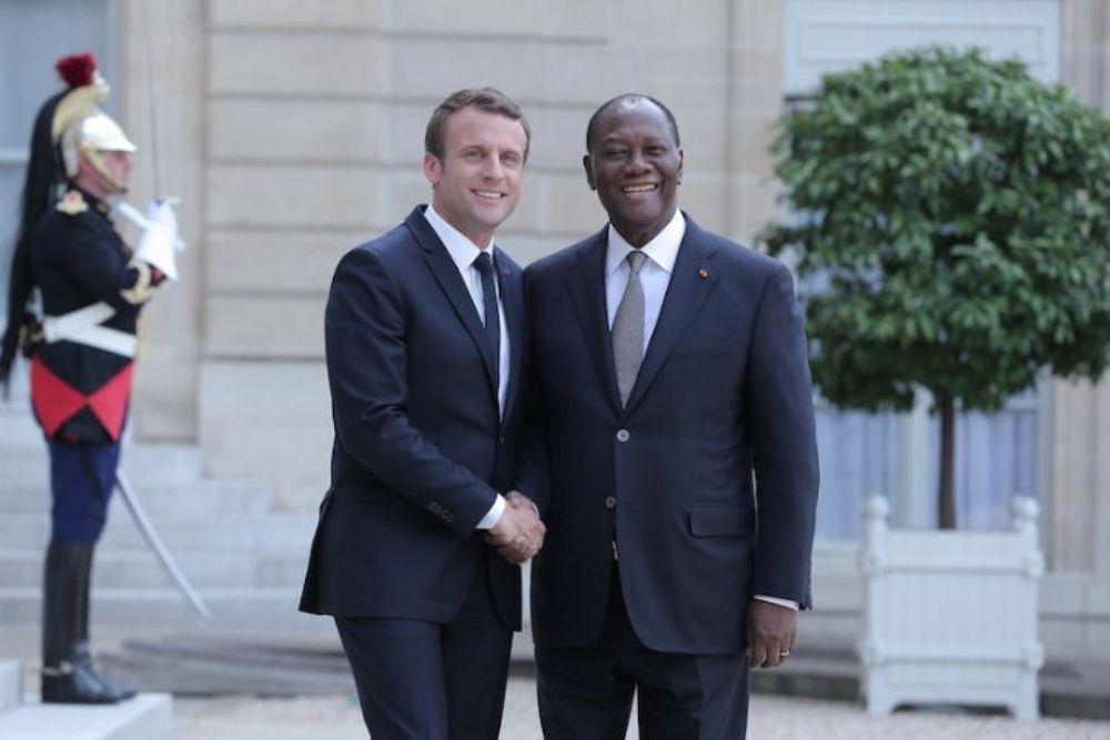 Côte d'ivoire: Emmanuel Macron aurait demandé à Alassane Ouattara de reporter les élections