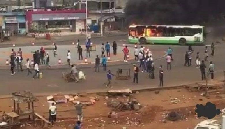 Côte d'Ivoire : les manifestations contre le 3è mandat d'Alassane Ouattara ont repris ce lundi