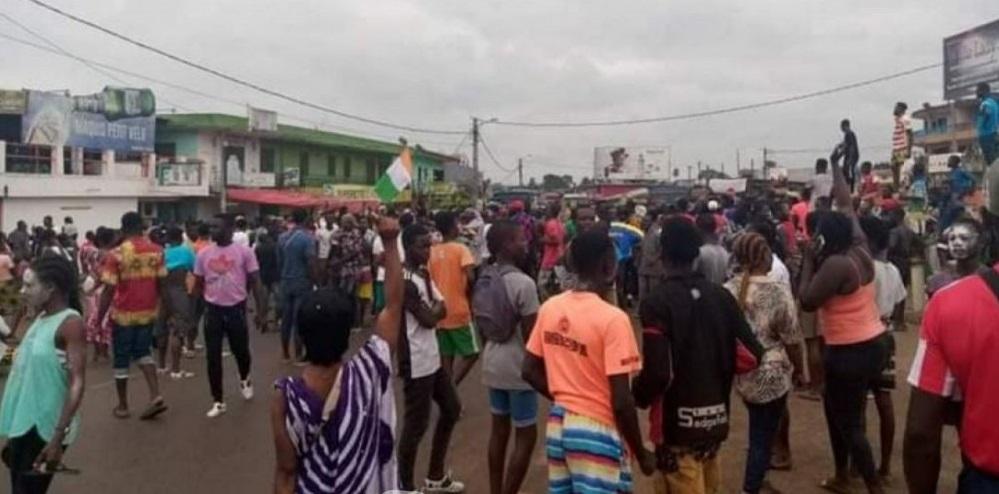 Côte d'Ivoire : des manifestations observées dans plusieurs villes après l'annonce du conseil constitutionnel.