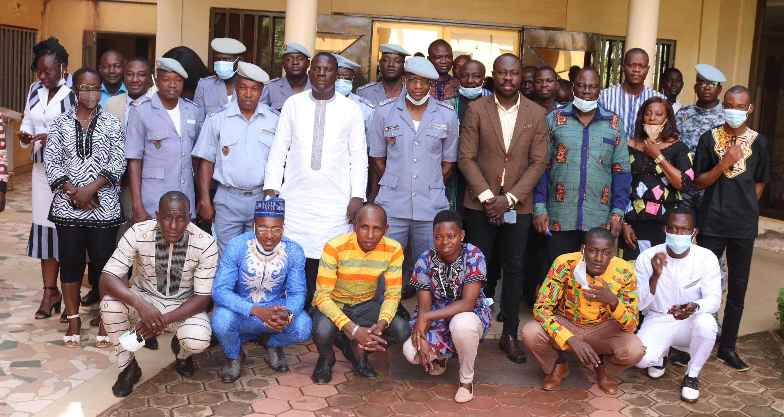 Justice: la Maison d'Arrêt et de Correction de Ouagadougou comptait 59,74% de personnes en détention provisoire en Aout 2020