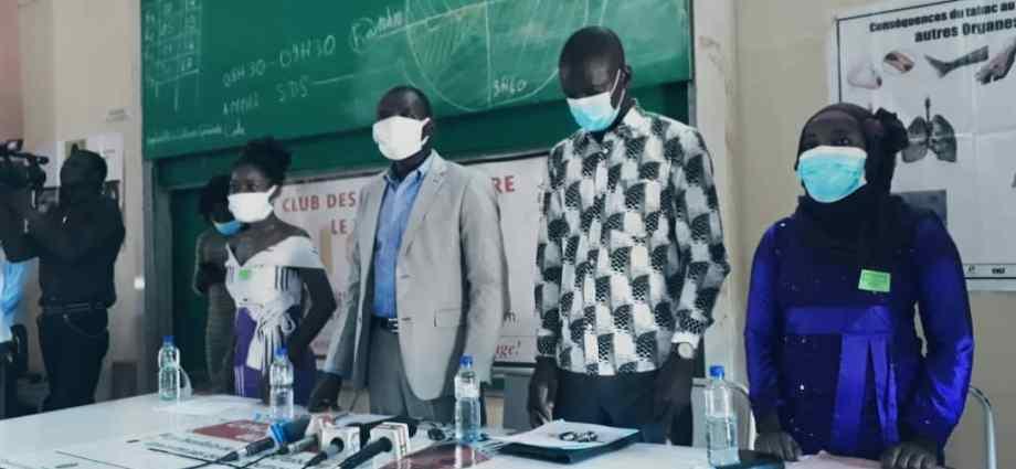 Université de Ouagadougou: Le club des jeunes contre le tabagisme souhaite zéro étudiant fumeur.