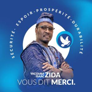 "Politique : ""Roch KABORÉ n'a pas gagné ces élections"" Yacouba Zida"