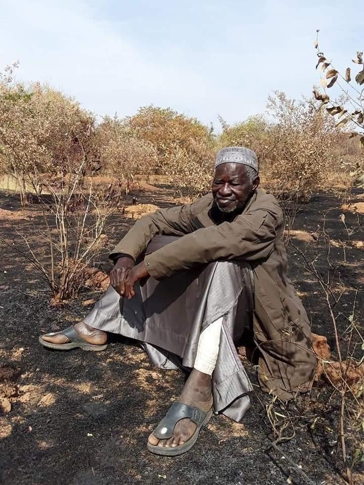 Incendie de la forêt de Yacouba Sawadogo: 1/2 ha partit en fumée.