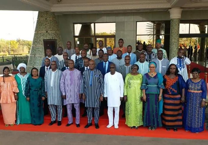 Démission du gouvernement Dabiré: le Premier Ministre reconnaissant