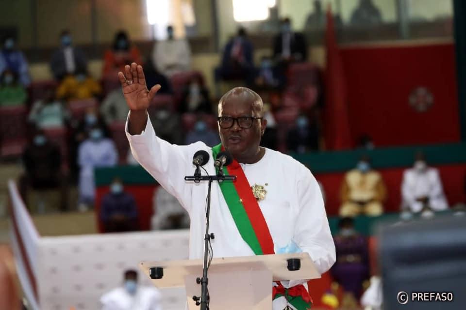 Présidence du Faso : Roch Marc Christian Kaboré investi pour un nouveau mandat de cinq ans.