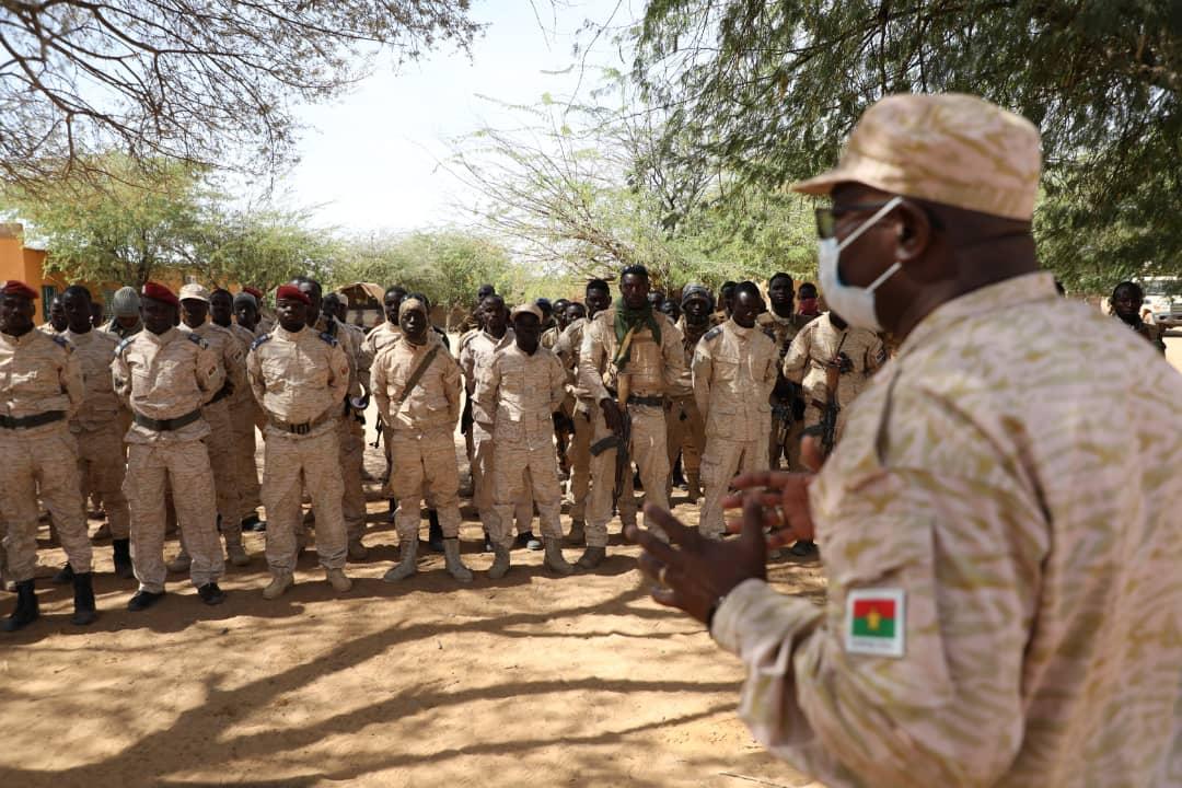 Gorom Gorom: le Général Miningou à la rencontre des troupes