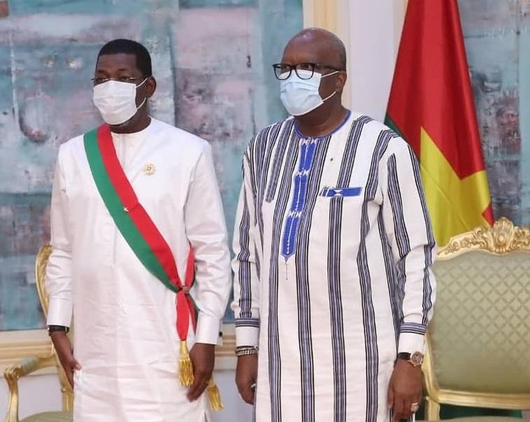 Assemblée nationale : Alassane Bala Sakandé sollicite les conseils du président du Faso