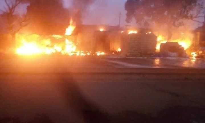 Bobo Dioulasso: une station essence part en fumée