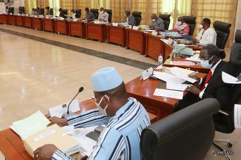 Burkina: le gouvernement adopte un projet de loi de finance rectificative de la loi de finance 2021.