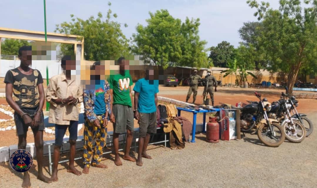 Gaoua: la police nationale met hors d'état de nuire un groupe de malfaiteurs