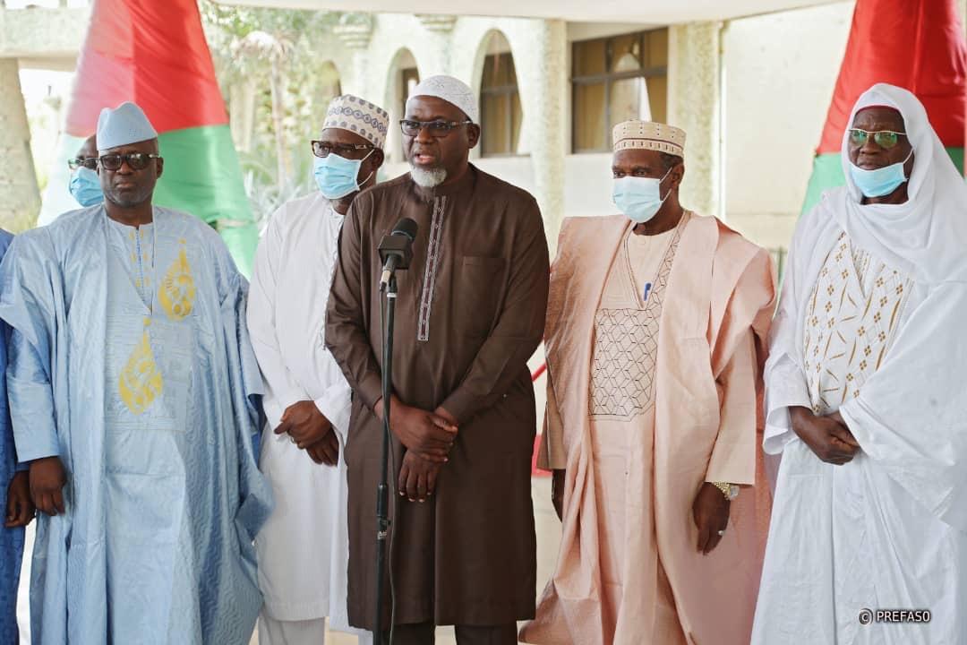 Présidence du Faso: des associations islamiques s'engagent pour la paix