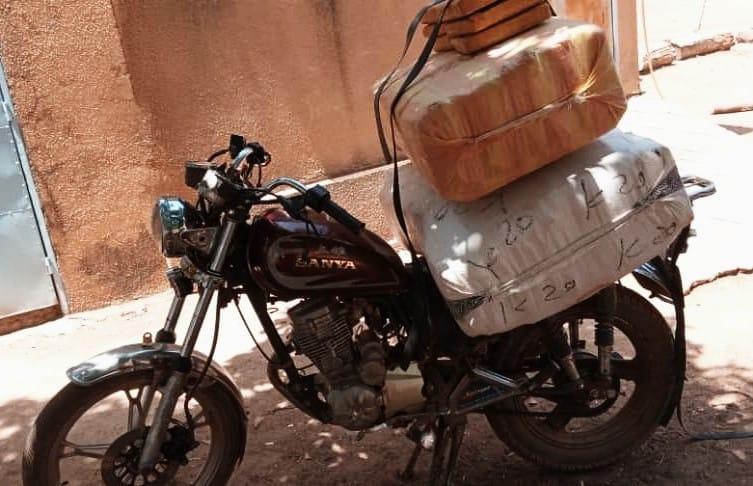Trafic de stupéfiants: la douane saisit du chanvre indien d'une valeur de 11 millions