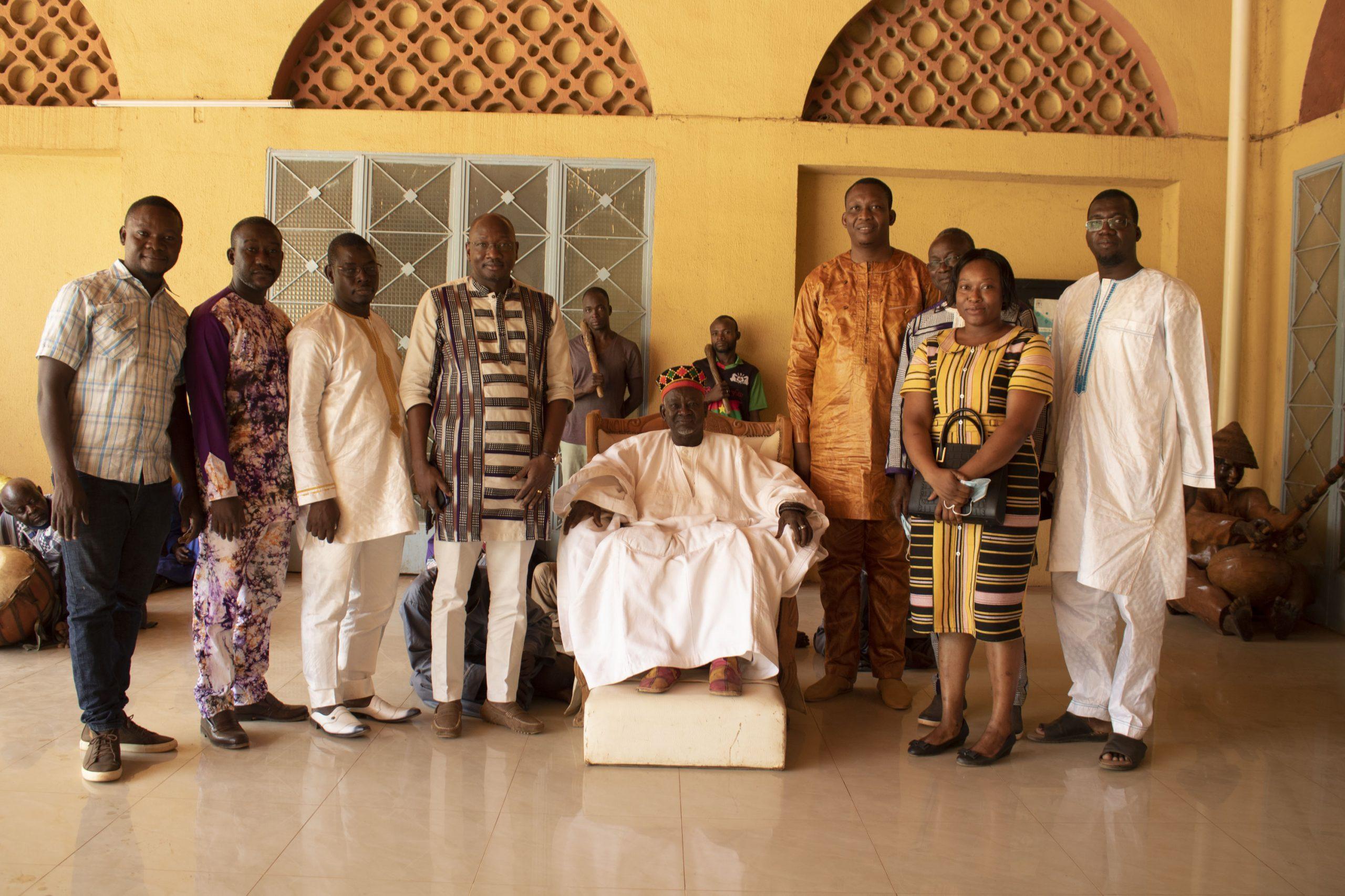 Economie: le FONAFI chez le Mogho Naba