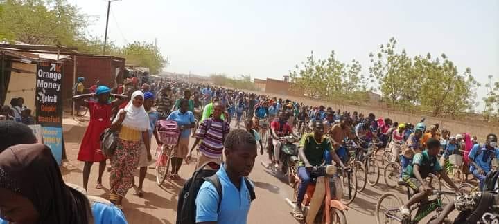 Kongoussi: Une fille meurt pendant une protestation scolaire
