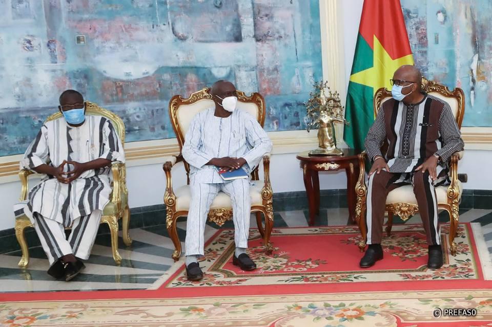 Situation nationale : Echange entre le Conseil national des OSC et le chef de l'Etat