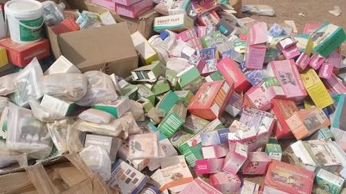 Burkina Faso : 500 millions de produits prohibés saisis à Ouagadougou