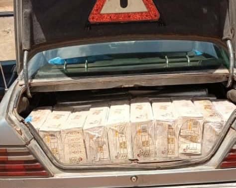 Lutte contre l'importation des produits impropres à la consommation : La Brigade Mobile des Douanes de Tenkodogo sévit.