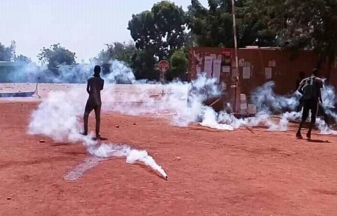 Fada N'Gourma : Plusieurs élèves blessés suite à des échauffourées avec les FDS ( AIB)