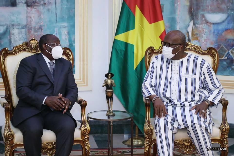 Financement des économies : le gouverneur de la BCEAO échange avec le président du Faso