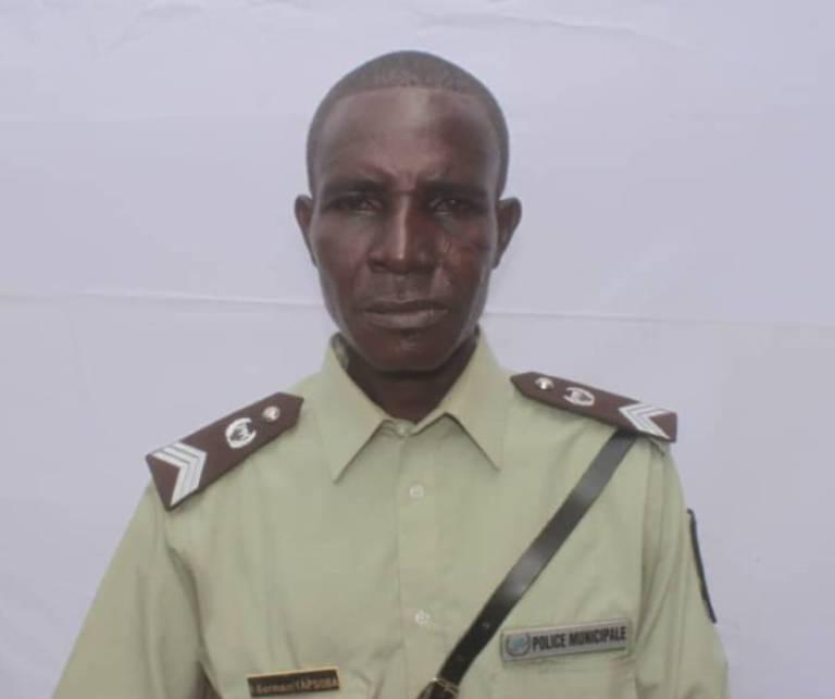 Ouagadougou: La Police municipale annonce le décès du Brigadier chef, TAPSOBA Germain