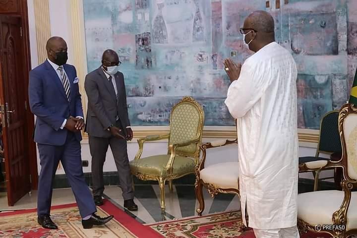 Zone de libre-échange continentale africaine : le secrétaire général évoque les enjeux avec le président du Faso