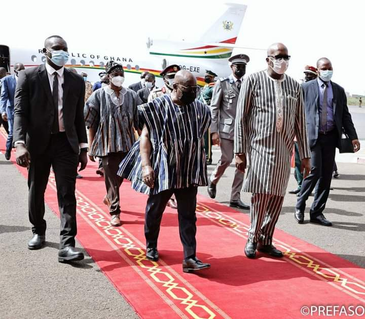 Coopération Burkina Faso-République du Ghana: Nana Akufo Addo à Ouagadougou