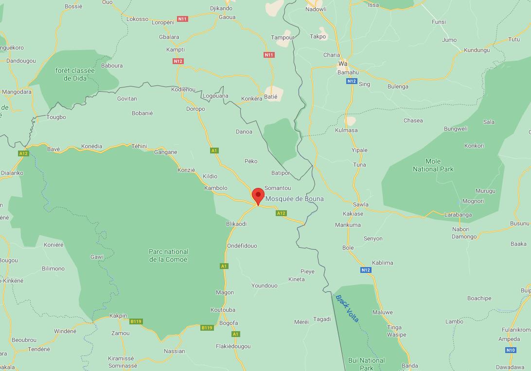 Côte d'Ivoire: un militaire tué dans une attaque à Tougbo à la frontière avec le Burkina