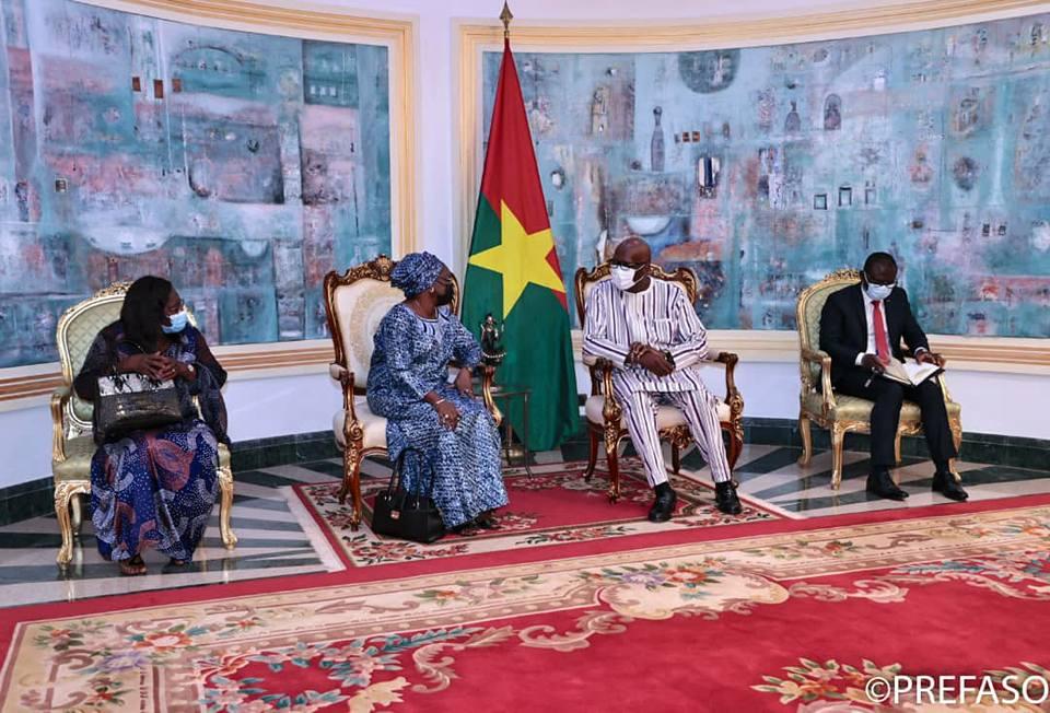 Promotion de la démocratie : la directrice résidente du NDI en fin de mission chez le président du Faso
