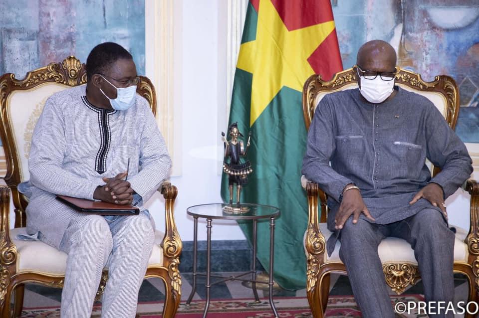Sécurisation des palais de justice : le chef de l'Etat échange avec le président du Conseil supérieur de la Magistrature