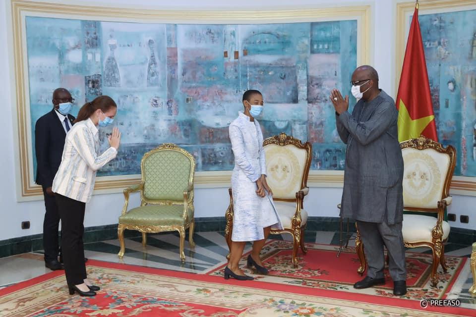 Système des Nations unies : la coordinatrice résidente fait ses adieux au président du Faso