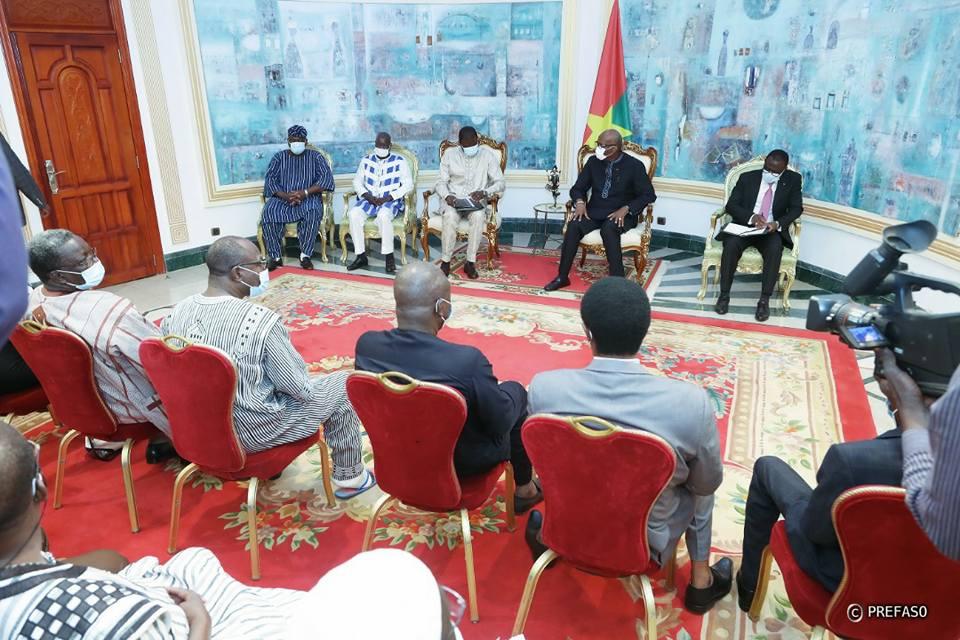 CENI : la nouvelle équipe sollicite le soutien du président du Faso