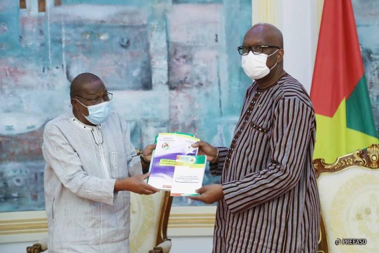 Haut conseil du dialogue social : le rapport général d'activités remis au président du Faso